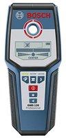 Bosch Professional Multidetektor GMS 120, 120 mm Erfassungstiefe, Trageschlaufe, Schutztasche, 1 x 9 V-6LR61 (Block) Batterie