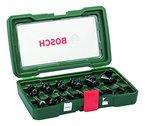Bosch Fräser-Set-HM (Ø 8 mm, 15-teilig) 2607019469