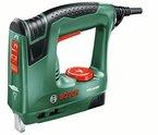 Bosch DIY Elektrotacker PTK 14 EDT, 1000 Klammern, Karton (30 min-1 Schläge, Nägel: 14 mm, 1,1 kg)