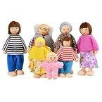 Arshiner 7-köpfige Puppenfamilie