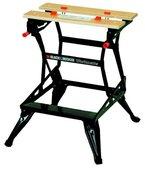 Black + Decker Workmate 536, 2 einstellbare Arbeitshöhen, bis 250kg belastbar, massive Stahlkonstruktion, WM536