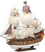 Revell 05605 - Modellbausatz - Pirate Ship, Maßstab 1:72