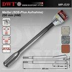 DWT SDS Plus Meißel / Hohlmeissel / Kanalmeißel 250 mm - MP-G22