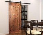 DIYHD 6.4ft(1.95M) rustikalen Holz Schiebetüren Beschläge antike Schiebetür alten Beschlag(Nur verkaufen hardware,ohne holz tür)