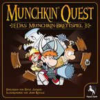 """Pegasus Spiele 51950G - Munchkin Quest """"Das Brettspiel"""""""