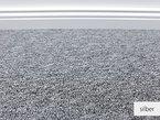 Teppichboden Auslegware Rasant Silber Muster