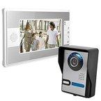 Thinp Türsprechanlage Video 7 Zoll LCD mit Funktion von Video, Nachtsicht,Überwachung Gegensprechanlage,Freischalten,Klingeltonauswahl Lagerbeständigkeit für immer