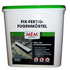 MEM Fix-Fertig Fugenmörtel steingrau 12,5 kg