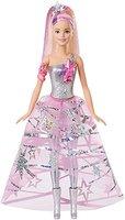 Mattel Barbie DLT25 Sternenglitzer Kleid Barbie Puppe