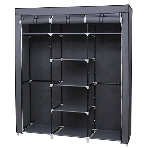 stoffschrank vergleich 2018. Black Bedroom Furniture Sets. Home Design Ideas