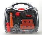 Brigamo®449 - Kinder Werkzeugkoffer mit Spielwerkzeug inkl. funktionierender Bohrmaschine