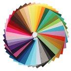 KING DO WAY Filz Mischung 42 farben Felt Fabric Polyester DIY gewebe DIY Filz Stoff 20 * 30cm