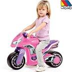 Rutschermotorrad, breite Reifen, geeignet für Innen und Außen, 73 cm, rosa: Laufrad Mödchen Motorrad Roller Lernlaufrad Kinderbike Lauflernrad Gleichgewicht