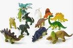 ZeroShop(TM) 12 Stück Kunststoff Dinosaurier Saurier Dinos Figuren