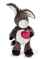 Nici 38572 - LOVE Esel 25 cm Schlenker, Plüschtiere