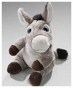 Esel sitzend mit großen Augen aus Plüsch ca. 15cm von Carl Dick