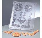 Efco Reliefform 7tlg. Ornamente Kreise und Eckern