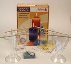 Mixed-Store 102001 - 4 verschiedene Kerzengießformen, Komplettset