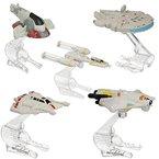 Star Wars Hot Wheels Modell Raumschiff mit Flug-Navigator (Y-Wing Fighter)