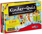 Noris Spiele 606013595 - Kinder Quiz 4+  , Kinderspiel