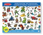 Melissa & Doug - 14246 - Sticker-Kollektion - Blau
