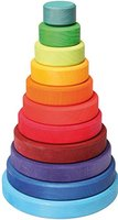 Grimm´s Großer Scheibenturm aus Buchenholz, farblich lasiert