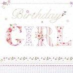 20 Servietten Birthday Girl / Geburtstag / Mädchen / Kindergeburtstag 33x33cm