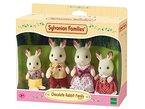 Sylvanian Families 3125 - Schokoladenhasen Familie Löffel, Puppen