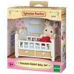 Sylvanian Families 2205 - Schokoladenhasen Baby mit Babybett