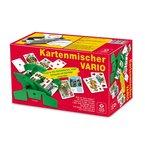 Kartenmischer - Vario mit Handkurbel, für unterschiedliche Kartenformate geeignet, im Faltkarton