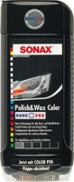 SONAX 296100 Polish & Wax Color NanoPro schwarz, 500 ml