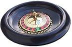 Riesige 40cm Roulette-Rad mit Kugeln + Blau Roulette Layout/Filz