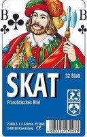 Ravensburger 27003 - Skat, französisches Bild - 32 Blatt, glasklares Etui