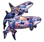 Orcas (Konturenpuzzle)