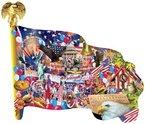 USA (Konturenpuzzle)