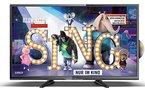 Dyon Sigma 32 Pro 80cm (31,5 Zoll) LED-Fernseher (HD Ready, Triple Tuner, DVB-T2 H.265/HEVC, DVD)