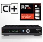 COMAG Twin-Tuner HDTV Sat Receiver mit Festplatten 1000GB (CI+, HDMI, DVB-S/-S2, PVR-Ready, SCART, SPDIF digital Koaxial, USB 2.0) schwarz