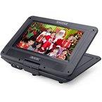 Tragbarer DVD-Player 10.1 Zoll SHUOGE 270 Grad-Schwenker-TFT-LCD-portable DVD /CD / TV / MP3-Player und USB / SD-Kartenleser CD-Player Spiel mit Fernbedienung---blauen Tasten