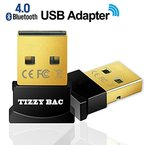 USB nano Bluetooth-Adapter V4.0 mit LED - Version 4.0 Technologie - neuester Standard - Plug & Play - Windows 10 fähig