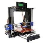 Ridgeyard 3D-Drucker DIY Full Kit mit MK8 Extruder RepRap Prusa I3-LCD-Bildschirm USB-SD-Karte