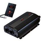 AEG 97117 Spannungswandler ST 1200 Watt, 12 Volt auf 230 Volt, mit LCD-Display, USB Ladebuchse, Fernsteuerungsmodul und Batteriewächterfunktion