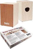 Sela Snare Cajon, Bausatz (mit Schule u. Audio-CD)