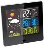 ADE Wetterstation WS 1403 mit Funk-Außensensor (schwarz)