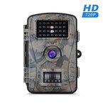 APEMAN Wildkamera Full HD Jagdkamera IP66 20m Nachtsicht Überwachungskamera