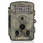 """Crenova 12MP 1080P HD Wildkamera 120° Breite Vision Infrarote 20m Nachtsicht 2.4"""" LCD Jagdkamera Jagdzeug Überwachungskamera"""