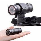 Polarlander, Mini F9 Kamera HD, Motorradhelm-, Fahradhelm-, Sport-, Action-Kamera; Video DV Camcorder, volle HD-Auflösung, 1080 p, Autovideorecorder