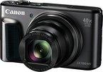 Canon PowerShot SX720 HS Digitalkamera (20,3 Megapixel CMOS-Sensor, 7,5 cm (3 Zoll) LCD-Display, 40 x Zoom, Full HD, WLAN) schwarz
