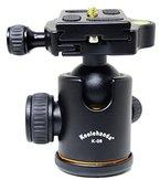 koolehaoda K-08 Aluminium Kamera Stativ Kugelkopf mit Schnellwechselplatte für DSLR Kamera-Stativ