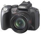 Canon PowerShot SX10 IS Digitalkamera (10 Megapixel, 20-fach optischer Zoom, 6,4 cm (2,5 Zoll) Display) schwarz