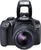 Canon EOS 1300D Digitale Spiegelreflexkamera (18 Megapixel, APS-C CMOS-Sensor, WLAN mit NFC, Full-HD) Kit inkl. EF-S 18-55mm IS Objektiv schwarz